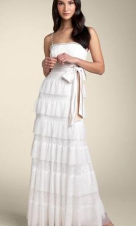 bcd170d139 ... BCBG MAXAZRIA Lace   Tulle Tier Gown 4