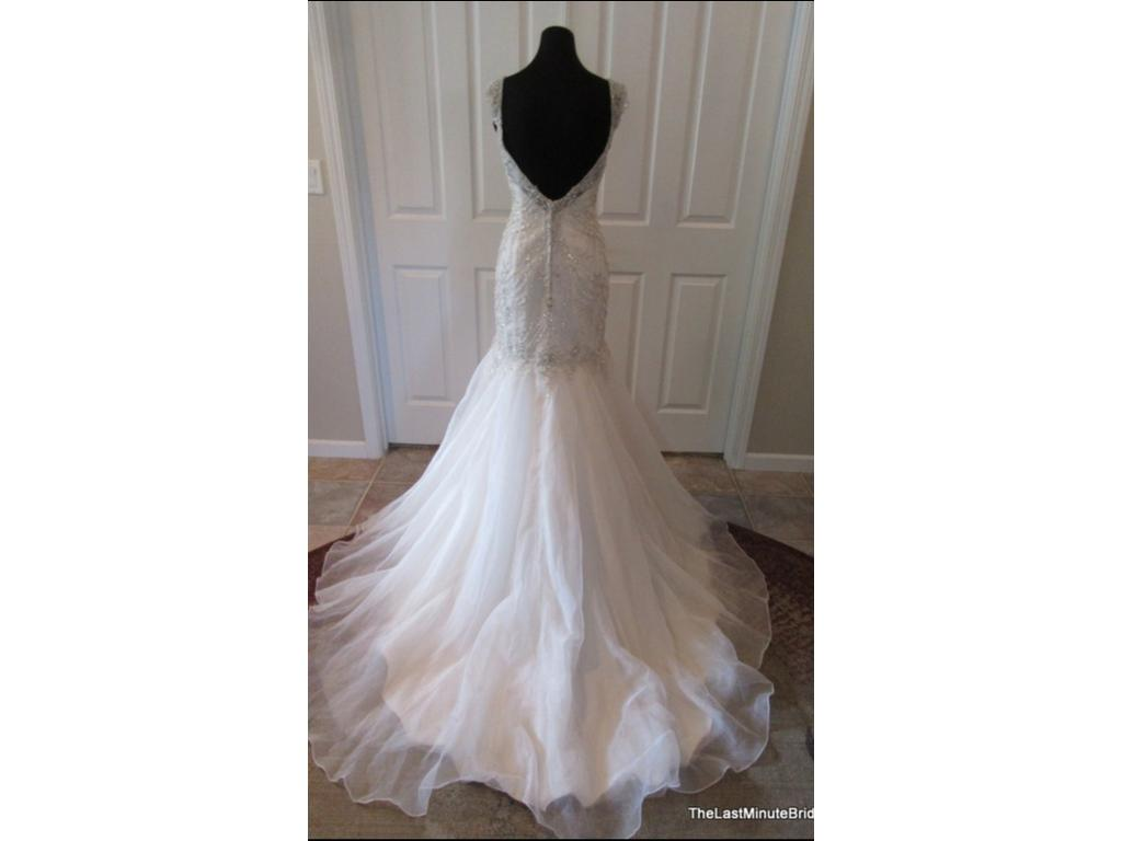Maggie sottero melissa 1 099 size 12 new un altered for Who sells maggie sottero wedding dresses