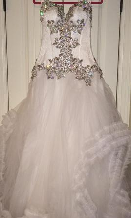 Pnina tornai 8 999 size 6 used wedding dresses for Pnina tornai wedding dress cost
