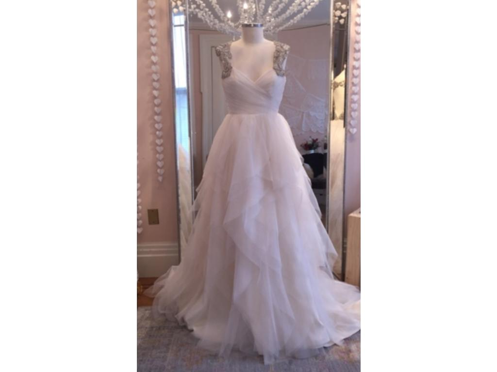 Hayley Paige Carrie - Style 6350, $1,375 Size: 12 | Sample Wedding ...