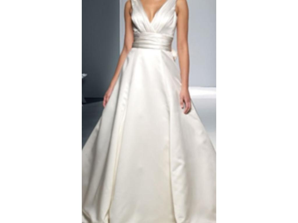 Oleg Cassini Grecian, $400 Size: 12 | New (Altered) Wedding Dresses