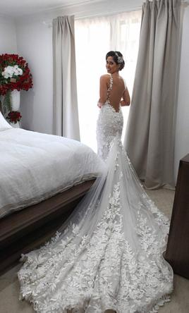 Other George Elsissa Haute Couture 8 500 Size 2 Used Wedding Dresses