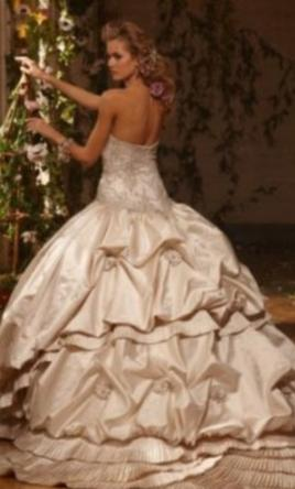 Used Wedding Gown 34 Luxury Eve of Milady