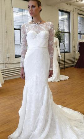 Zac posen truly 341506 780 size 12 new un altered for Truly zac posen wedding dress with sequin detail