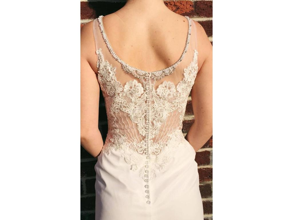 Jacquelin Exclusive 19040, $690 Size: 6 | New (Un-Altered) Wedding ...