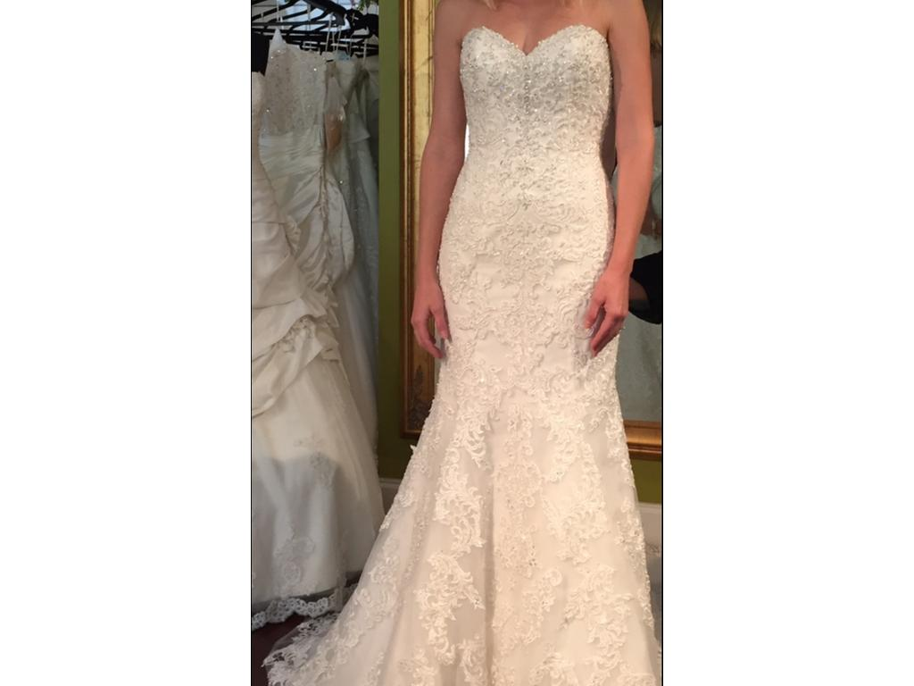 Sottero midgley stella 5ss114lu 945 size 6 used for Pre owned wedding dresses