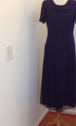Other donna ricco for talbots size 8 mother of the for Talbots dresses for weddings