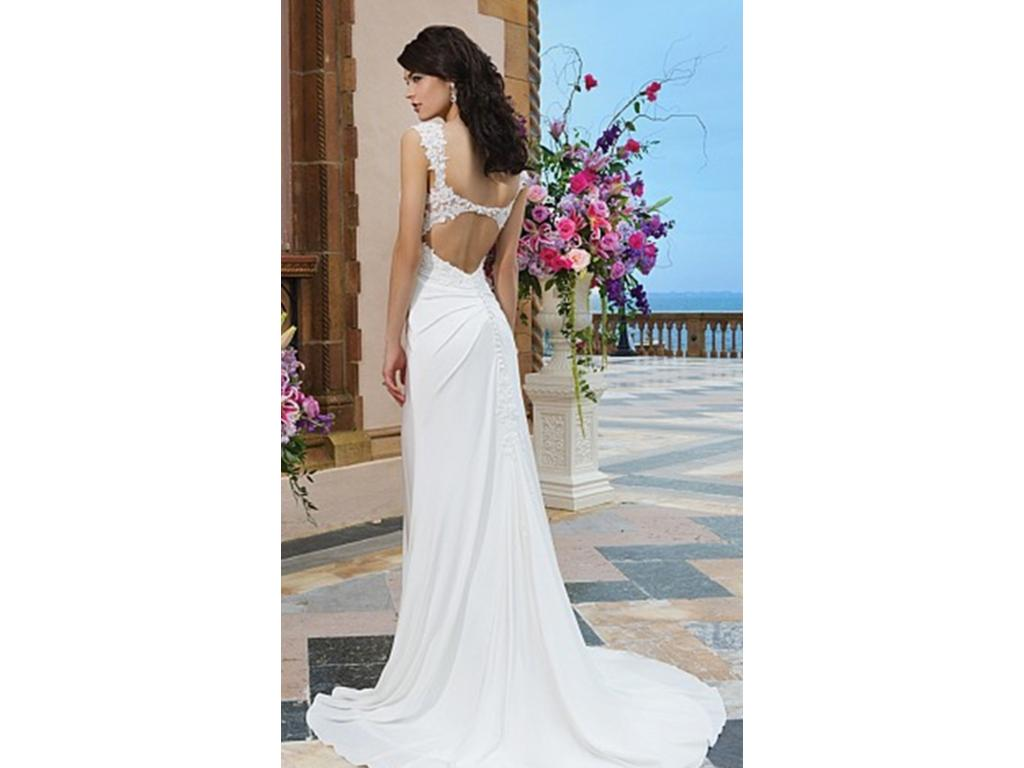 Other created from sincerity style 3829 175 size 8 for Used wedding dresses kansas city