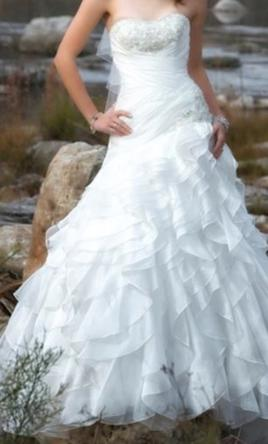 Alfred Angelo Jasmine's Fairy Tale Wedding Gown