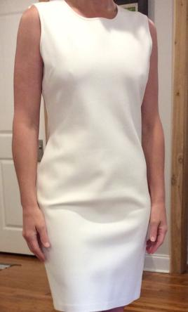 Other St. John Cream Sleeveless Dress -  8