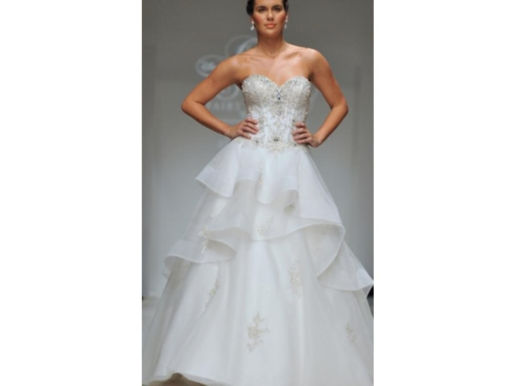 Alfred Angelo Belle Style 217 1100 Size 18w New Un Altered