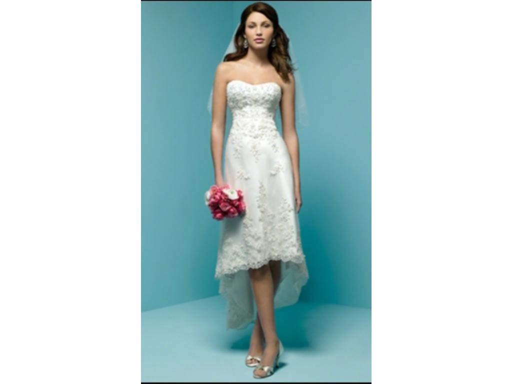 Alfred Angelo 1142 New With Tags, $200 Size: 8 | New (Un-Altered ...