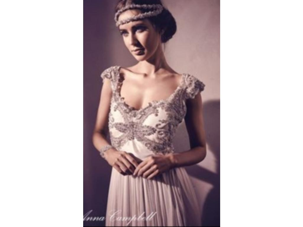 Anna campbell tallulah 1 500 size 10 sample wedding for Anna campbell wedding dress for sale