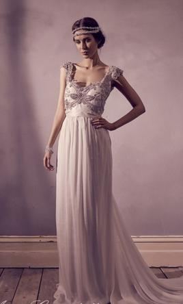 Anna Campbell Tallulah, $1,500 Size: 10 | Sample Wedding Dresses