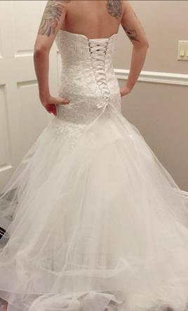 Alfred Angelo Cinderella style 216, $400 Size: 4 | Used Wedding Dresses