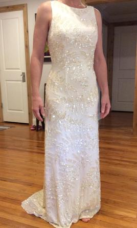 Other Sequined sheath wedding dress 8