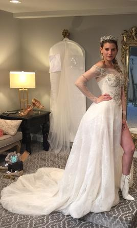 Galia Lahav Aria 54 Wedding Dress Used Size 0 5 000