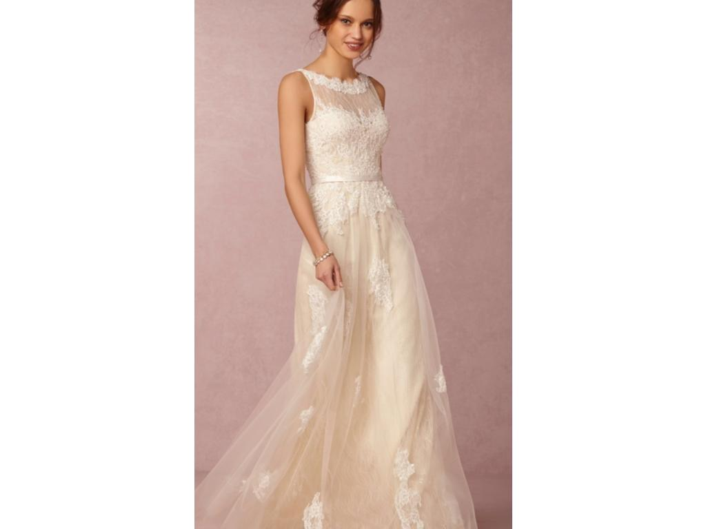 BHLDN Georgia Gown 0034991828, $500 Size: 4   New (Un-Altered ...