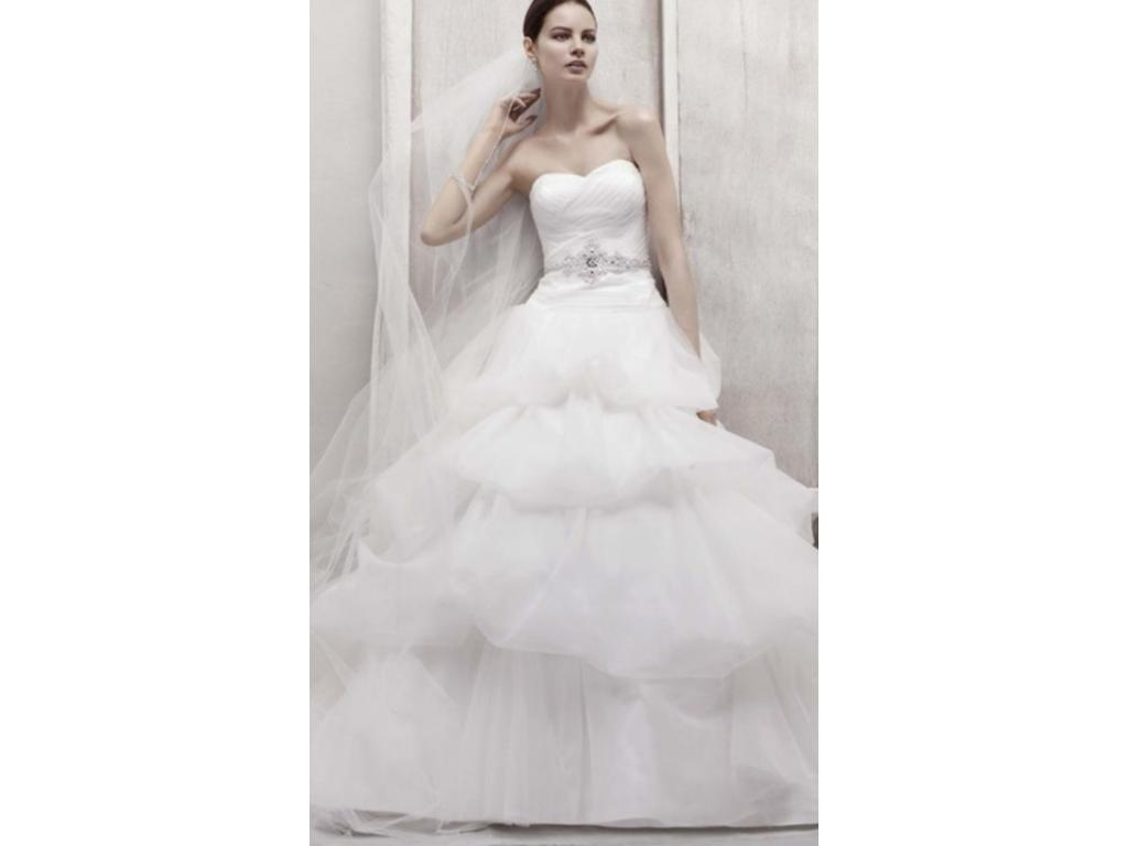 Oleg Cassini $400 Size: 14 | Used Wedding Dresses