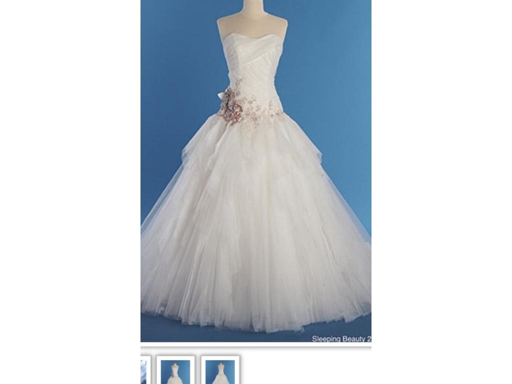 Old Fashioned Alfred Angelo Disney Wedding Gowns Image - All Wedding ...