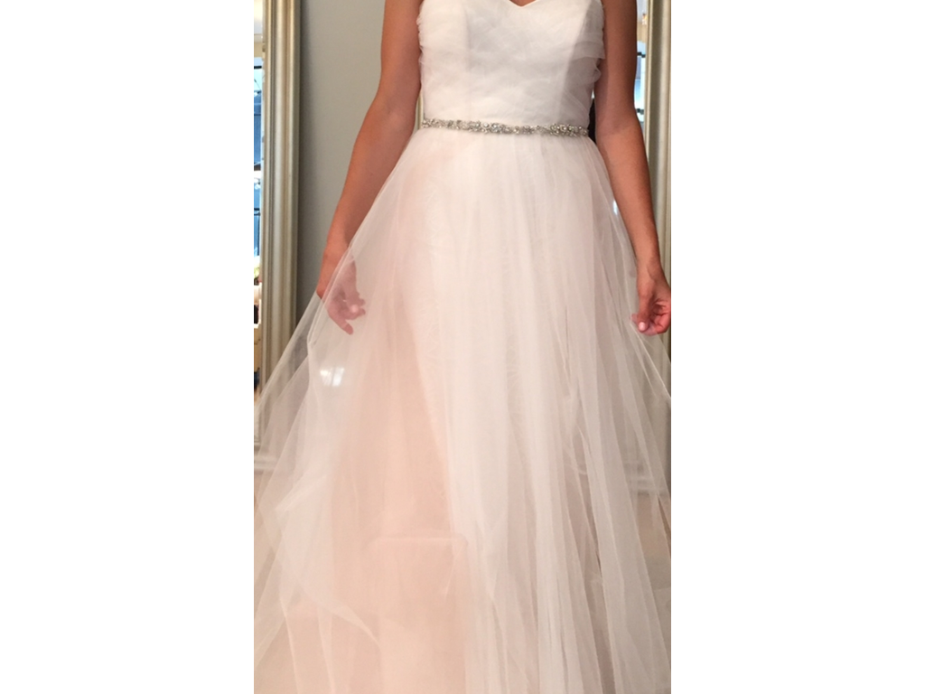 Blush Ball Gown Wedding Dress: Hayley Paige 1550- Blush By Hayley Paige