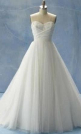 Alfred Angelo 205 Cinderellas Disney Princess Bridal Gown 661
