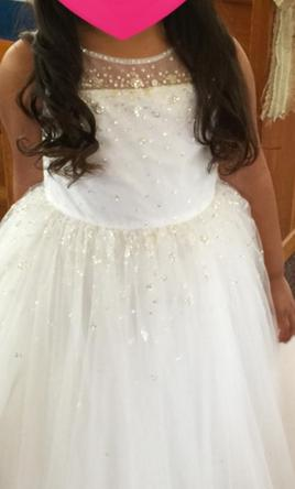 Alfred Angelo Style 733 Elsa's Disney Princess Flower Girl Gown