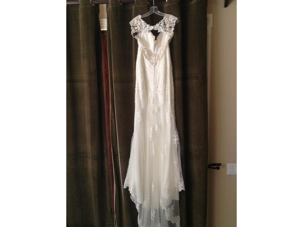 Stella york 6245 1 000 size 10 new un altered for Previously worn wedding dresses for sale