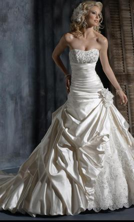 Pin It Maggie Sottero Ambrosia Imperial Gown PRICE IS NEGOTIABLE 6