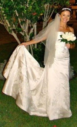 Maggie Sottero Strapless, Beaded, Corset back, $325 Size: 8 | Used ...