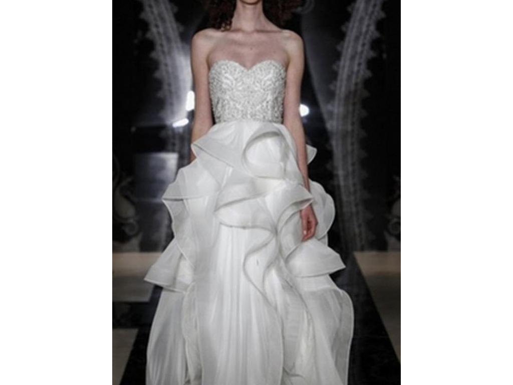 Reem acra tianna 4915 2000 size 6 used wedding dresses sale details ombrellifo Image collections