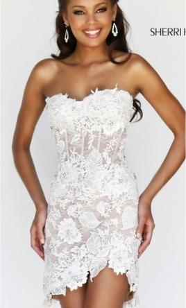 8d0a33cdbfe Pin it · Other Sherri Hill short lace dress 2