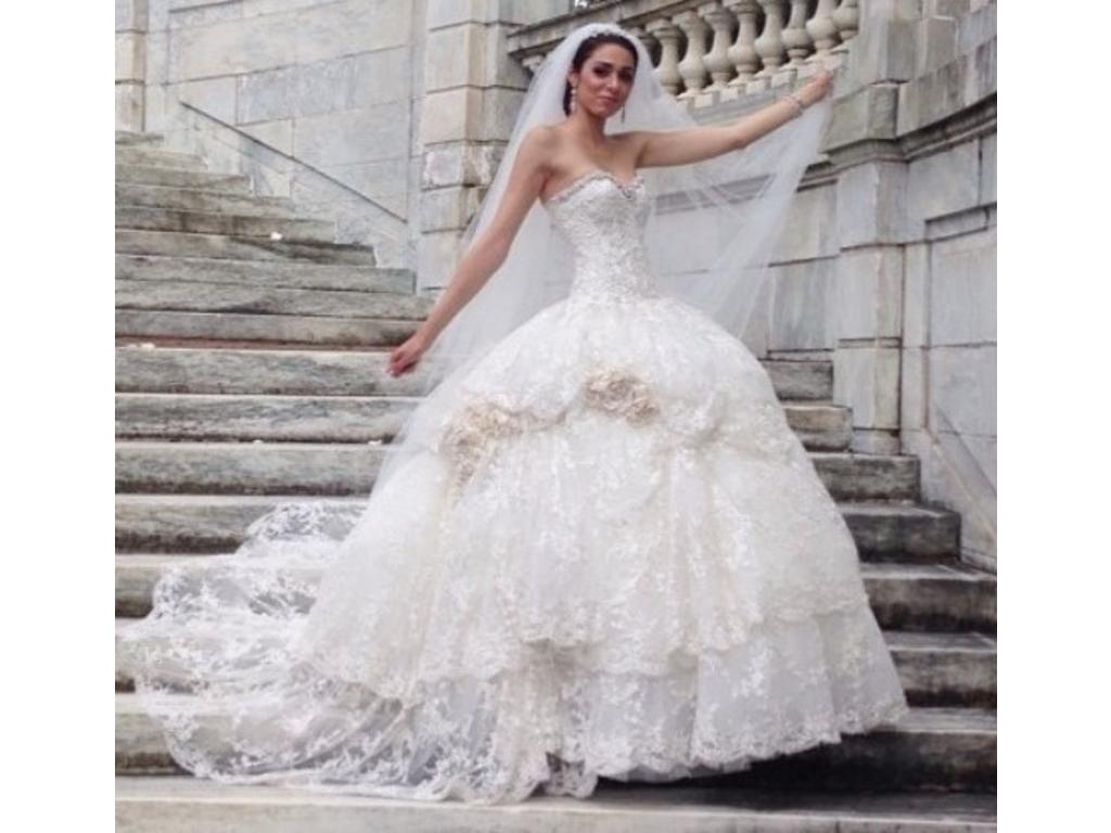 pnina tornai wedding dress currently for sale at 44 off retail