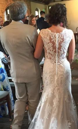 Pin It Maggie Sottero Melanie Ivory Over Light Gold 8