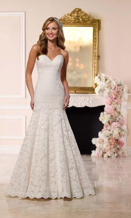 Stella York Fit-And-Flare Wedding Gown 16