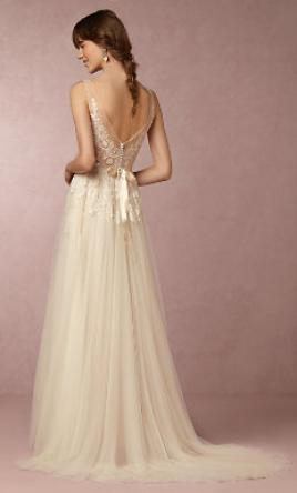 Bhldn reagan gown 550 size 2 used wedding dresses for Bhldn used wedding dresses