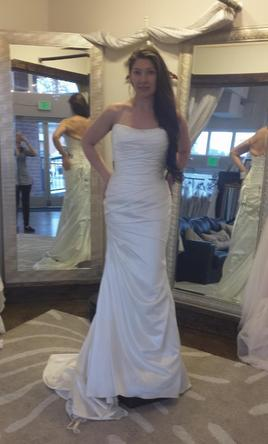 Lillian West Justin Alexander Private 6275 - simple gown  10