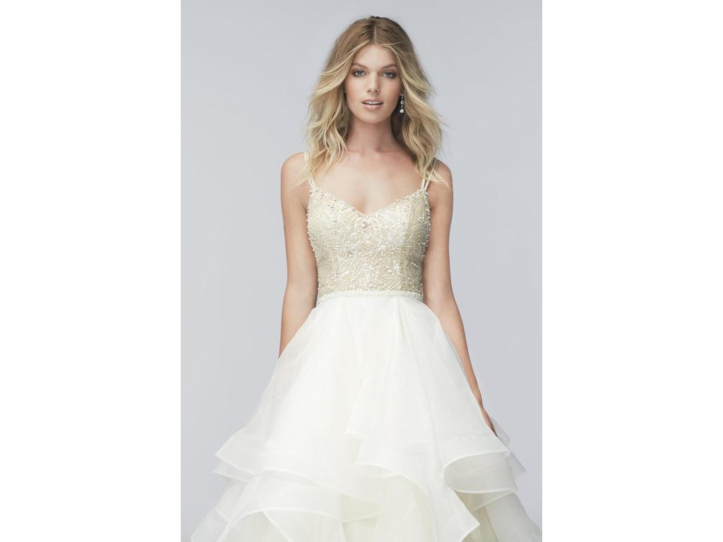 Used Wedding Gowns: Wtoo Kennedy Gown/ 16005, $1,300 Size: 4