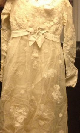 Priscilla of Boston 1966 long sleeve ivory lace 6