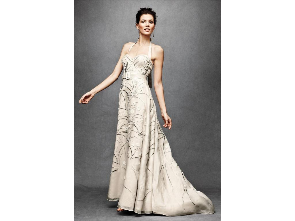 Bhldn Trumpeted Pavot Gown 625 Size 8 New Un Altered