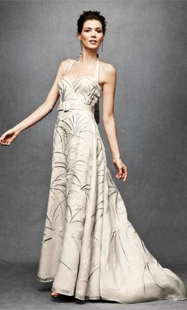 BHLDN Trumpeted Pavot Gown 8