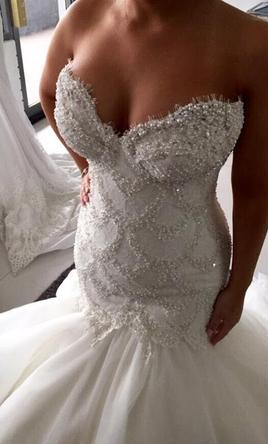 Other leah da gloria custom 4 500 size 6 used wedding for Own the couture