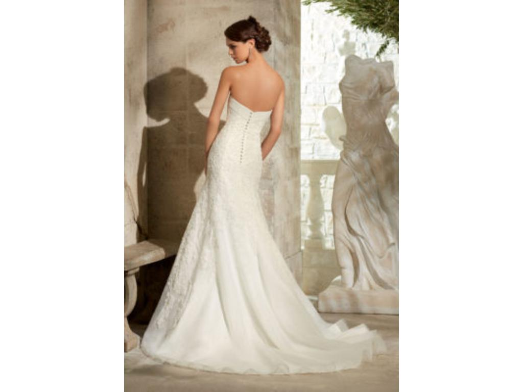 Mori lee 5314 719 size 8 new un altered wedding dresses for Sell wedding dress san diego