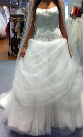 Alfred Angelo Belle Disney Princess, $500 Size: 0 | Used Wedding ...
