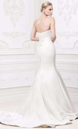 Zac posen truly zac posen wedding dress with pearl details for Truly zac posen wedding dress with sequin detail