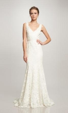 40798bfe801 Theia Bruna Wedding Dress | New (Un-Altered), Size: 6, $1,100