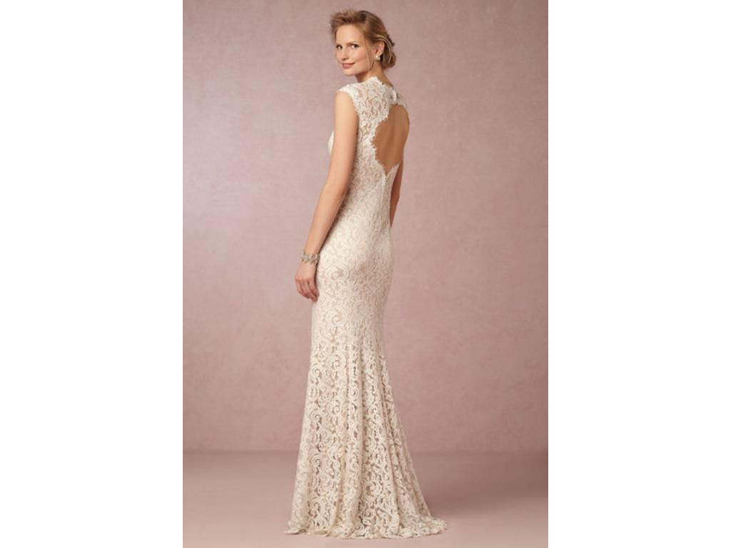Beige Lace Bhldn Wedding Dress Or Bridesmaid Gown: BHLDN Marivana Lace Gown / STYLE #35575612, $300 Size: 0