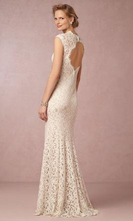 Bhldn marivana lace gown style 35575612 300 size 0 for Bhldn used wedding dresses