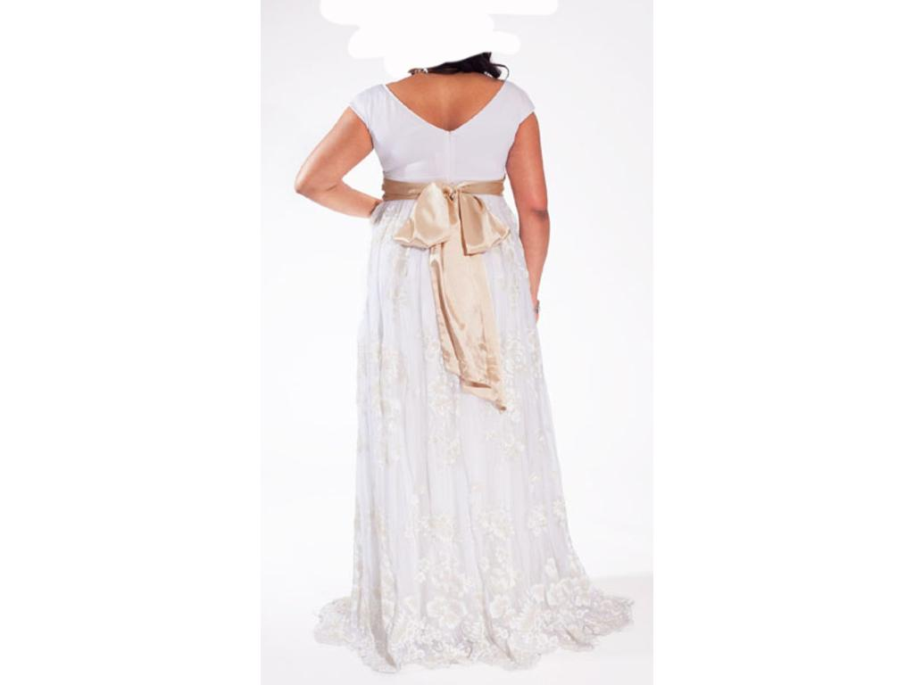Other eugenia vintage plus size wedding gown 500 size for Wedding dresses for 500 or less