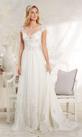 Pin It Alfred Angelo Modern Vintage 8541 4